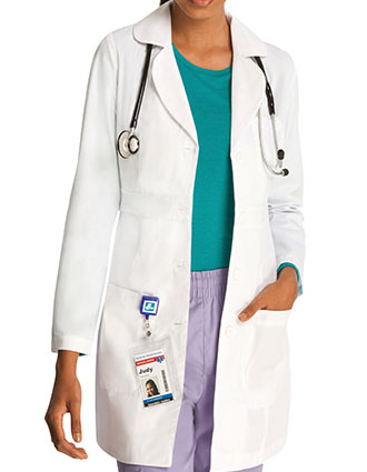 AD-2817-ADAR 33 inch Universal Women's Adjustable Belt Lab Coat