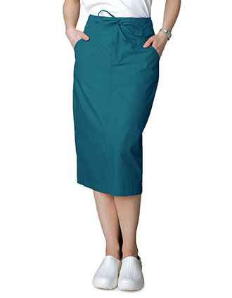 AD-707-Adar 29 Inch Women's Drawstring Uniform Skirt