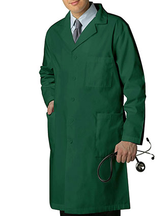 AD-803-Adar 39 Inch Unisex Inner Pocket Lab Coat