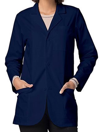 AD-805-Adar Classic 30 inch Three Pocket Unisex Consultation Short Lab Coat