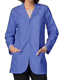 Adar Unisex 30 Inch Medical Uniforms Ceil Blue Consultation Coat