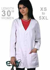 AD-807-Adar 30 inch Double Princess Women Consultation Lab Coat