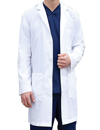BA-9103-Barco Uniforms 38 inch Classic Twill Mens Medical Lab Coat