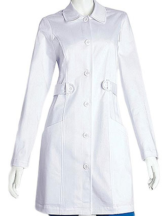 BA-C3409-Clearance Sale! Barco NRG Junior Fit 33 Inch Two Pocket Tab Front Medical Lab Coat