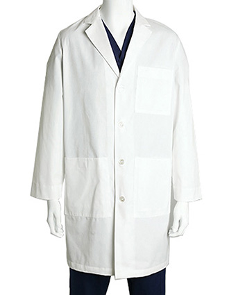 BA-C9103-Clearance Sale! Barco Uniforms 38 inch Classic Twill Mens Medical Lab Coat