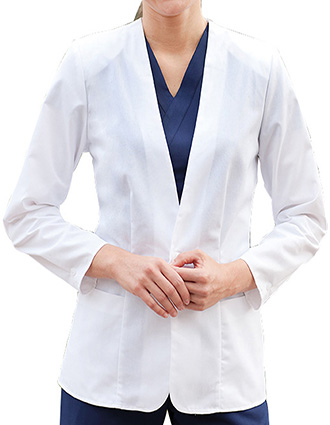 BA-CE5427-Clearance Sale! Barco 28 inch Women White Medical Consultation Coat