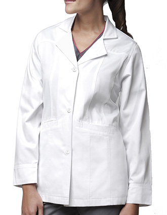 CA-CC72103-Clearance Sale! Carhartt Two Pocket Junior Women 29.5 inch Lab Coat