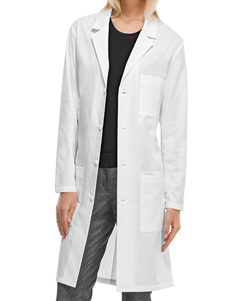 CH-1346A-Cherokee 40 Inch Unisex Antimicrobial Three Pocket Lab Coat