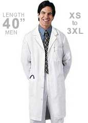 CH-1388-Cherokee Med Man 40 inch Mens Long Medical Lab Coat