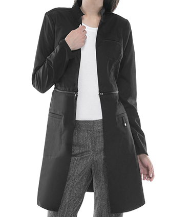 CH-1404-Cherokee Luxe 32 Inch Women's Contemporary Lab Coat