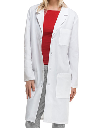 CH-1446A-Cherokee 40 Inch Unisex Antimicrobial Lab Coat