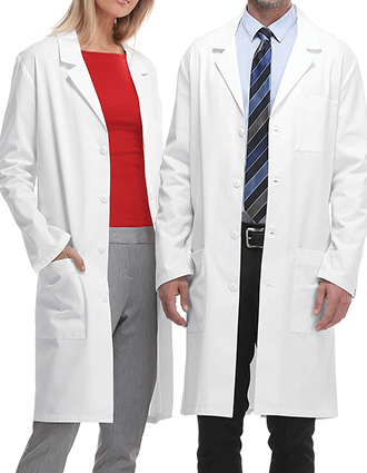 CH-1446AB-Cherokee 40 Inch Unisex Antimicrobial with Fluid Barrier Long Lab Coat