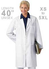 CH-1446-Cherokee Unisex 40 inch Twill Lab Coat