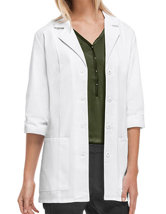CH-1470-Cherokee 30.5 Inch Women's Three Quarter Sleeve White Lab Coat