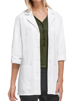 CH-1470A-Cherokee's Professional Whites with Certainty 30 Inch Women's 3/4 Sleeve Lab Coat