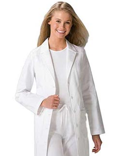 Cherokee Women 36 inch Fit and Flare Medical Lab Coat