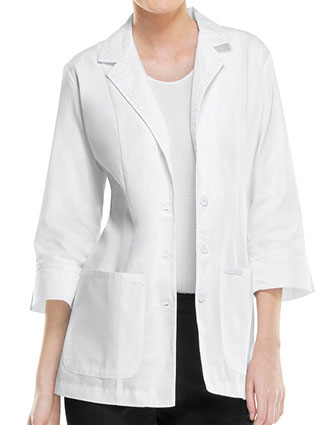 CH-2330-Cherokee Women 29 inch Three Quarter Sleeves Medical Lab Coat