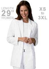 CH-2330-Cherokee Women 29 inch Three Quarter Sleeves Medical Lab Coat