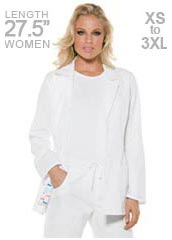 CH-26364-Cherokee Baby Phat Signature 27.5 inch Women Medical Lab Coat