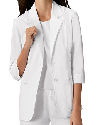 CH-3371-Cherokee 29 inch Three Quarter Sleeve Womens Consultation Lab Coat