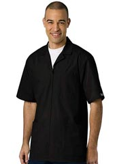 CH-4300-Cherokee Three Pocket Zip Front Mens Medical Scrub Jacket