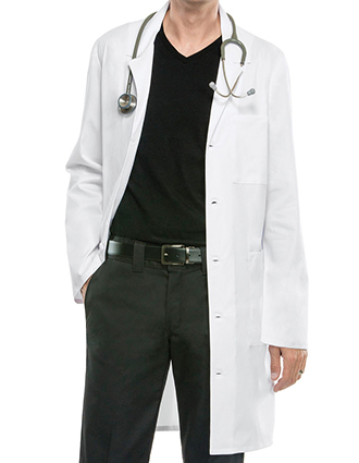 CH-4403-Cherokee Workwear 38 Inch Unisex Long Lab Coat