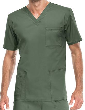 CH-4725-Cherokee Workwear Unisex V-Neck Nurses Scrub Top