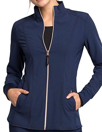 CH-CK365-Cherokee Statement Women's Zip Front Jacket