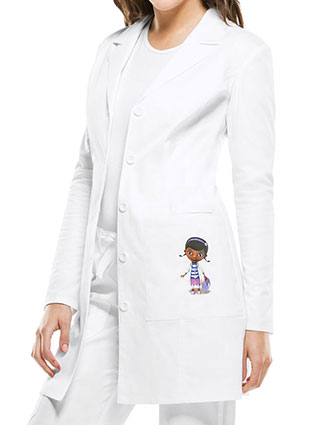 CH-TF401-Cherokee Tooniforms Disney Women's 33 Inches Doc Mcstuffins Pocket Long Lab Coat