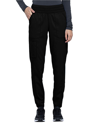 CH-WW011-Cherokee Workwear Revolution Women's Natural Rise Tapered Leg Jogger Pant