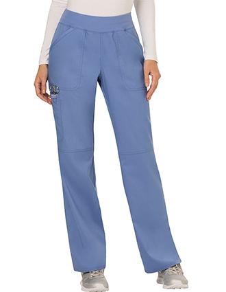 CH-WW110-Cherokee Workwear WW Revolution Womens Mid Rise Straight Leg Pull-on Pant