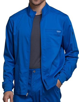 CH-WW320-Cherokee Workwear Revolution Men's Zip Front Jacket