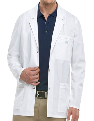 DI-81403-Dickies GenFlex Men's Multi-sectional Pockets Lab Coat