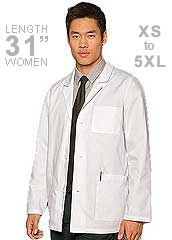 DI-81404-Dickies EDS Three Pocket 31 Inch Mens Consultation Coat