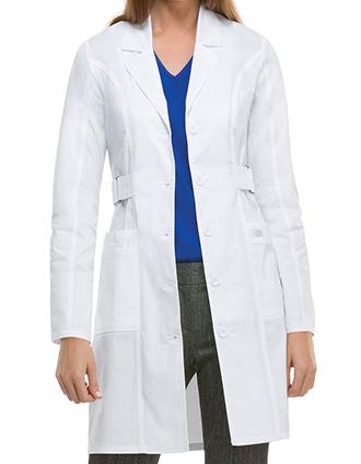 DI-82410-Dickies GenFlex 36 Inch Women's Junior Fit Long Lab Coat