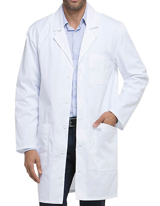 DI-83404-Dickies EDS 37 Inch Unisex iPad Long Lab Coat