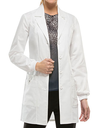DI-85400-Dickies 32 Inch GenFlex Women's Jr. Fit Lab Coat