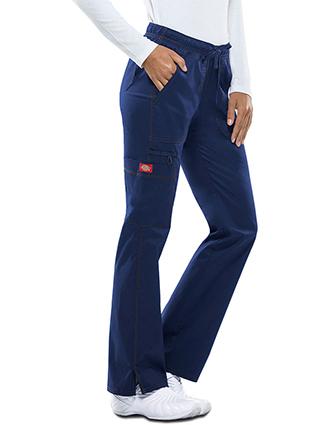 DI-DK100-Dickies GenFlex Women's Low Rise Straight Leg Cargo Pant