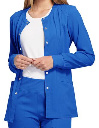 EL-EL300-ELLE Women's Snap Front Warm-up Jacket
