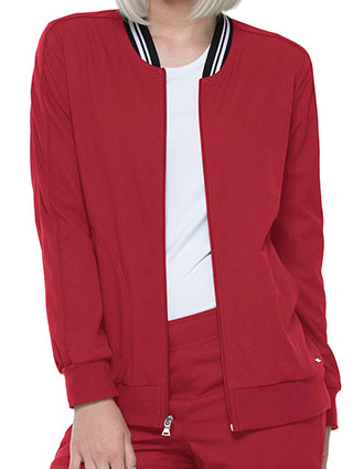 EL-EL310-ELLE 26 Inch Women's Zip Front Warm-up Jacket