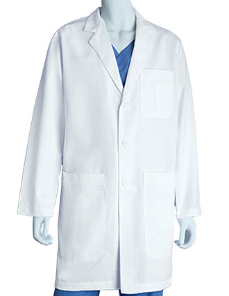 GR-0914-Grey's Anatomy 37 inch Men's Long Labcoat