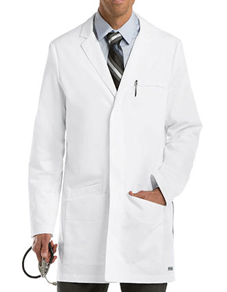 GR-0917-Grey's Anatomy 35 inches Men's Short Lab Coat