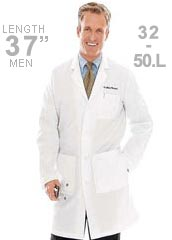 LA-3124-Landau Multiple Pockets 37 inch Men Protective Lab Coat
