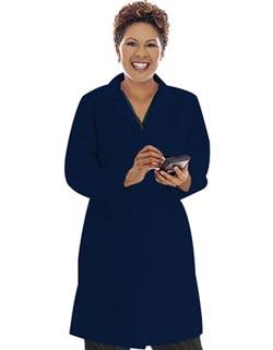 Landau Uniforms Women Three Pockets 39 inch Long Medical Lab Coat