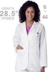 LA-3230-Landau Uniforms 28.5 Inch Consultation Women White Medical Lab Coat