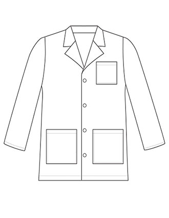 LA-7003-Landau Child Size Lab Coat