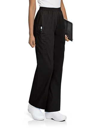 LA-83221-Landau ScrubZone Womens Three Pocket Cargo Medical Scrub Pants