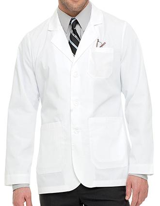 LA-C3224T-Clearance Sale! Landau Uniform White Twill 30.75 inch Men Consultation Lab Coat