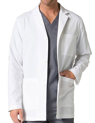 MA-7216-Maevn 30.5 inch Red Panda Men's Consultation Lab Coat