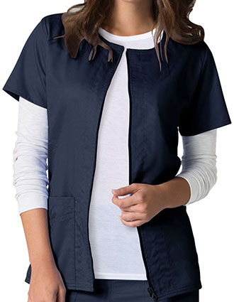 MA-8728-Maevn EON 28.25 Inch Women's Zip Front Warm-up Jacket